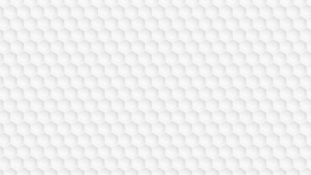 Красивый абстрактный белый фон многоугольника