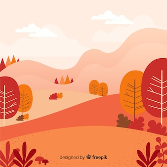 Beautiful autumn background