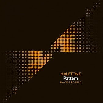 Astratto colore mezzetinte sfondo pattern di progettazione marrone