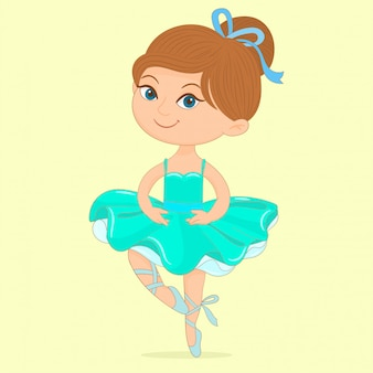 Beautiful ballet girl