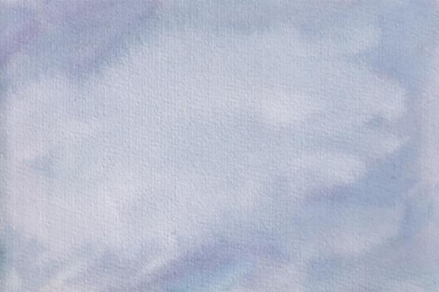 美しい青い水彩画の抽象的な背景