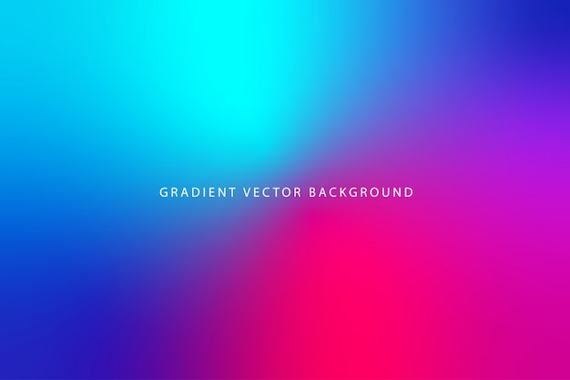 Beautiful blurry gradient background