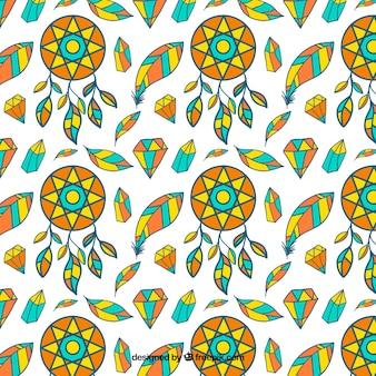 Beautiful boho pattern