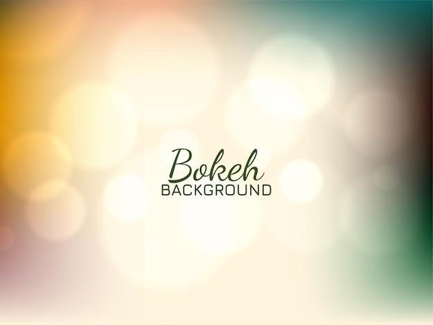 Bellissimo sfondo colorato morbido bokeh