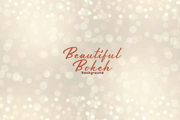 Beautiful bokeh lights effect sparkling background