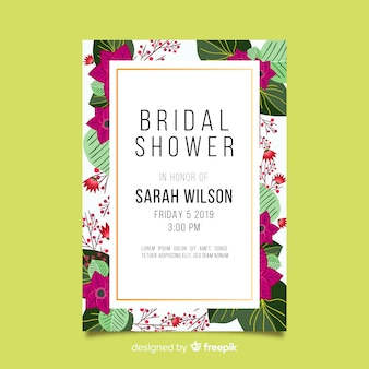 Beautiful bridal shower design