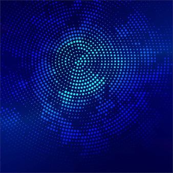 Beautiful bright blue halftone background