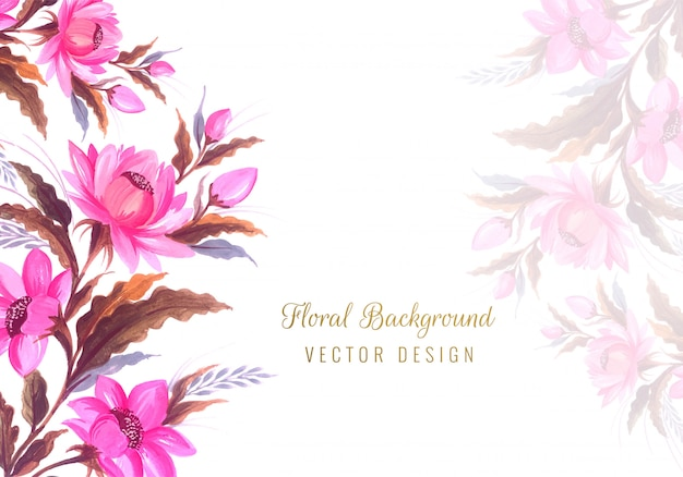 Beautiful bunch wedding floral background