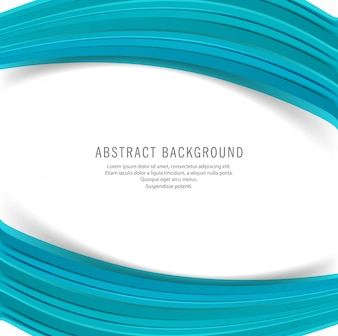 Beautiful business blue wave background
