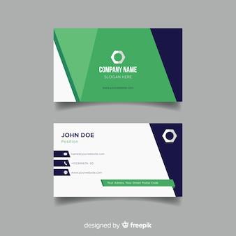 Beautiful business card template