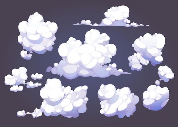 아름다운 만화 구름 모음