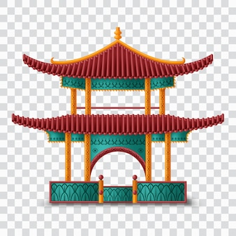 Beautiful chinese. traditional building.