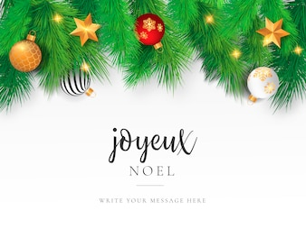 Beautiful Christmas Card Template