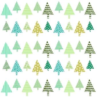 Красивые рождественские декоративные елки