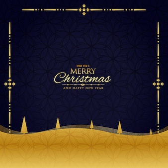 Beautiful christmas greeting luxury background