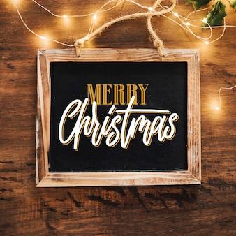 아름다운 크리스마스 글자