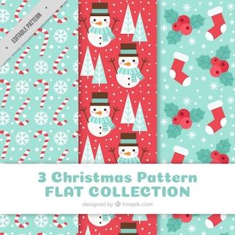 Beautiful christmas patterns