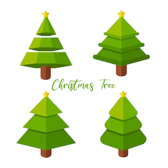 A beautiful christmas tree to decorate with christmas lights and gifts.