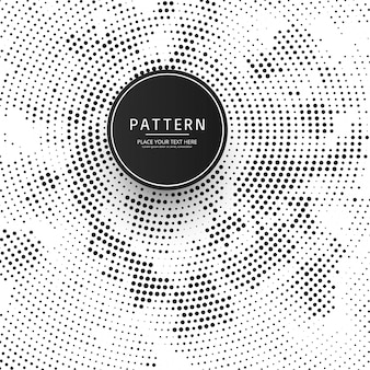Beautiful circular halftone background illustration