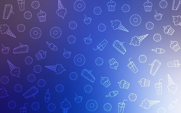Красивые цветные иллюстрации с конфетами