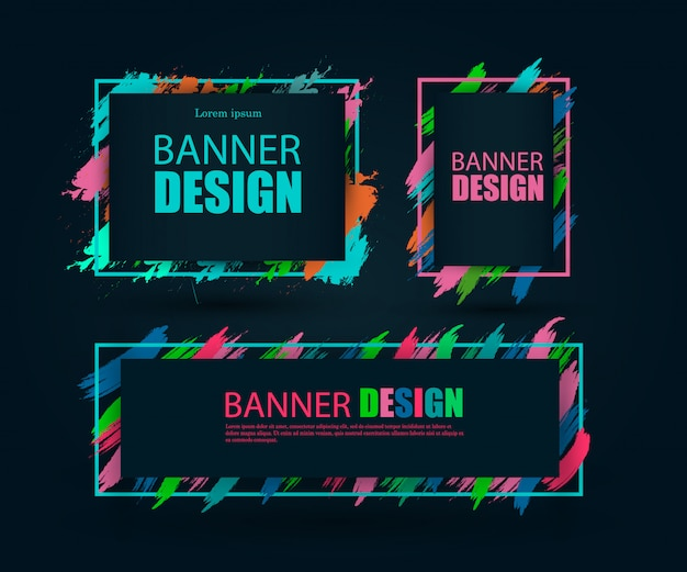 Beautiful colorful background for text and graphics.
