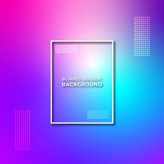 Beautiful colorful blurred gradient background