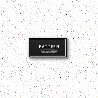 Beautiful colorful dots pattern design vector