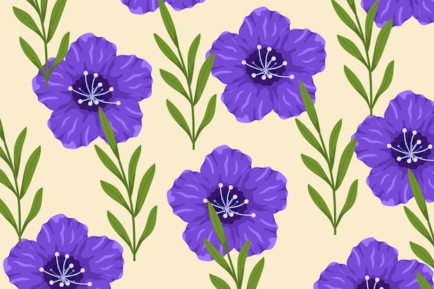 Beautiful colorful floral pattern