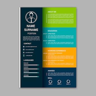 Beautiful cv, resume template