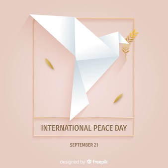 Красивый день мира