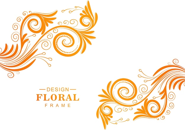 Beautiful decorative colorful floral background
