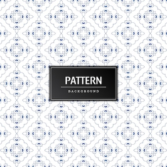 Beautiful decorative pattern vector background