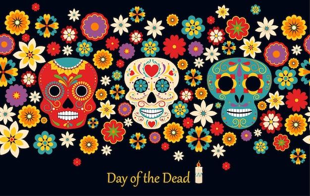 Beautiful dia de los muertos