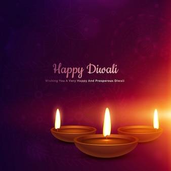 Beautiful and elegant background for diwali
