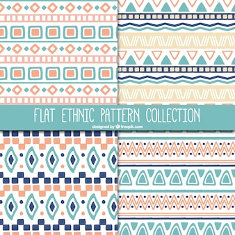 Beautiful ethnic patterns set