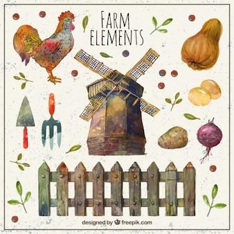 美しい農場要素