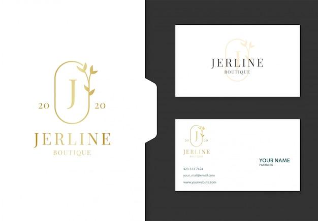 Beautiful feminine logo design.