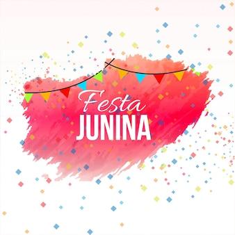 Beautiful festa junina design