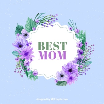 Beautiful floral background of mother day