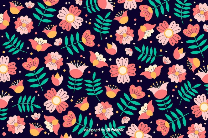 Beautiful floral background