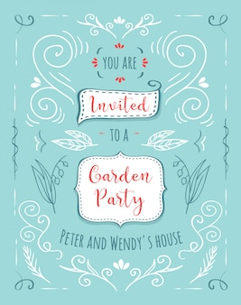 Beautiful floral banners set. Element for design or invitation card