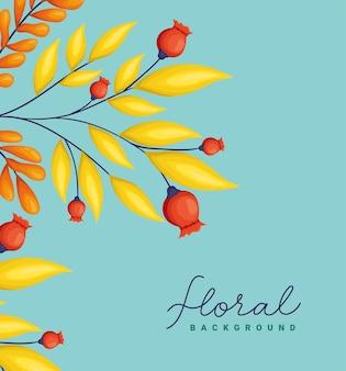 美しい花のカード