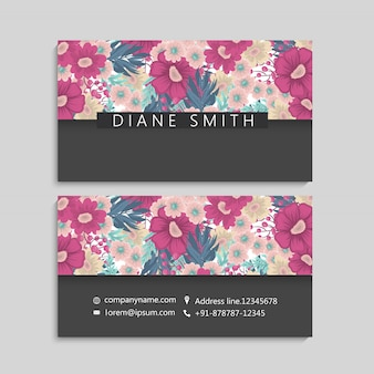 Beautiful floral design.vector illustration