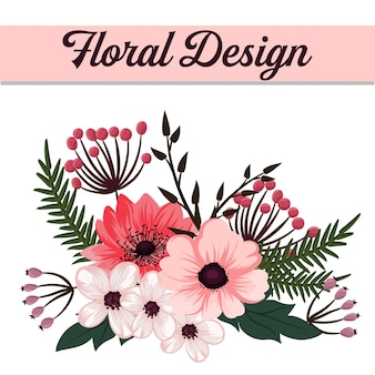 Beautiful floral design
