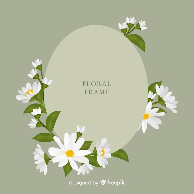 Free Beautiful floral frame design SVG DXF EPS PNG - Free SVG Cut Files