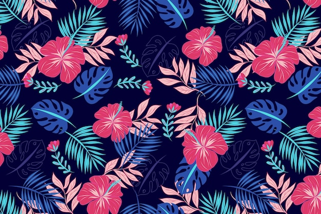 Beautiful floral pattern background