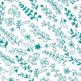 Beautiful floral seamless pattern. element for design or invitation card