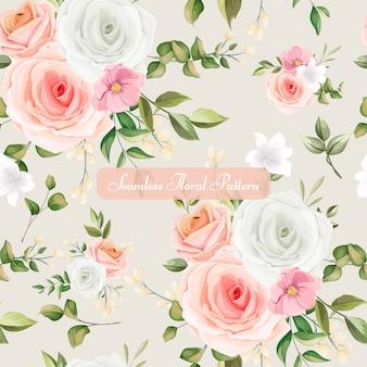 美しいシームレス花柄