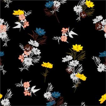 Beautiful flowers pattern