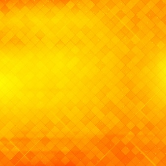 Beautiful geometric yellow and orange background